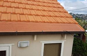 Tile roof gutter Guards