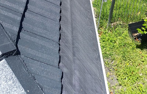 Gutter guard Tile roof